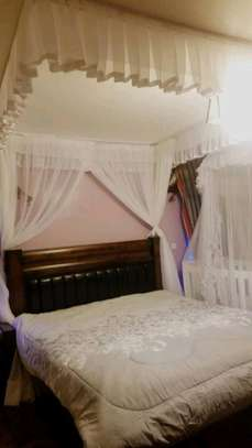 Brand new custom made Rail shears mosquito nets sliding like curtains fixed on the ceiling image 15