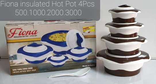 4pcs Redberry Fiona Insulated Hot Pots image 2