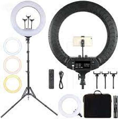 21 inch 52.5cm LED Ring Vlogging Photography Video Lights image 1