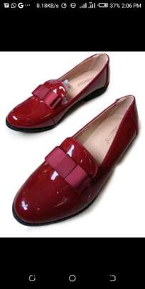 Maroon Victoria shoes image 1