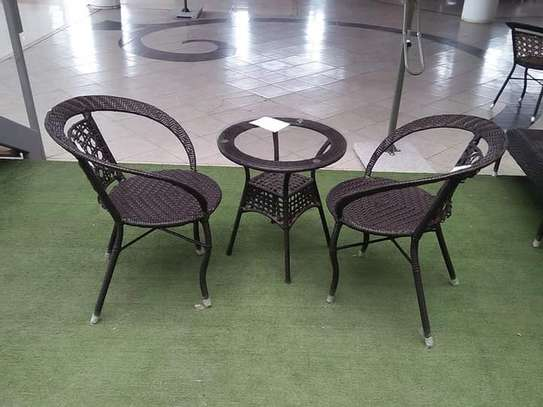 2 Seater Outdoor Set-Up image 1