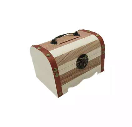 PIGGY BANKS - WOODEN MONEY BOX image 4