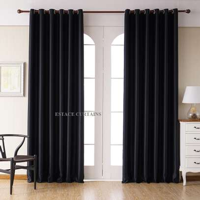 CURTAINS WITH WHITE PRINTED SHEERS image 6