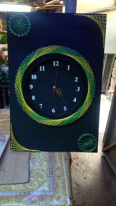 String Art wall clocks on offer!! image 2