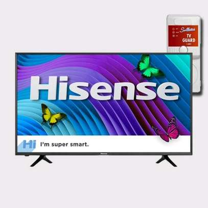 Hisense – 55″- 4K Ultra HD Smart-Digital TV With Free TV Guard image 1