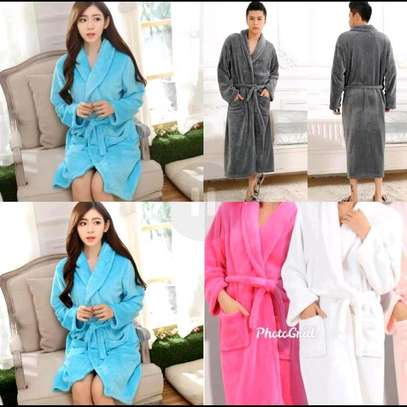 Kids and adult bath robes image 1