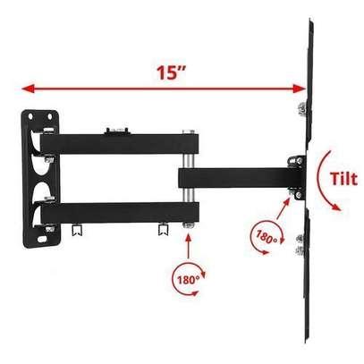 """Home Design Rotating 14"""" - 55"""" Full Motion Swivel Wall Mount TV Bracket image 2"""