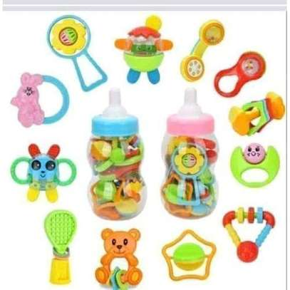 12 Pcs Standard Version Children Play toys shakers for Kids image 1