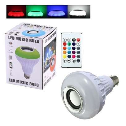 LED Music Bulb with Bluetooth and Music Player image 3