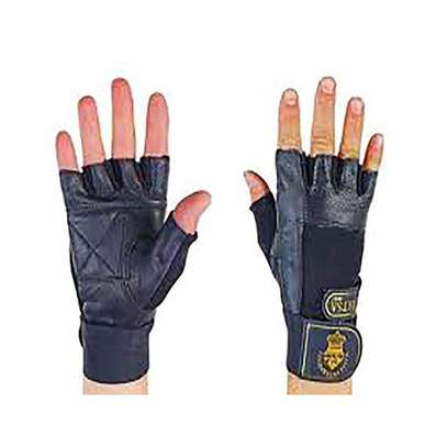 Matsa fitness leather gym gloves image 1