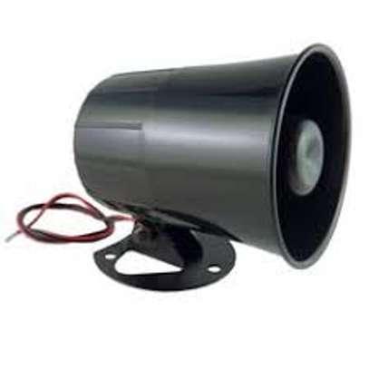 Universal Car Alarm Security Siren Horn 12V Loud DC 12V 20W. image 1