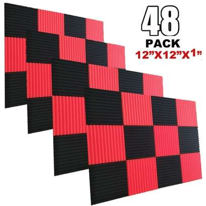 48 X Acoustic Foam Panels. Free Delivery Within Nairobi image 1