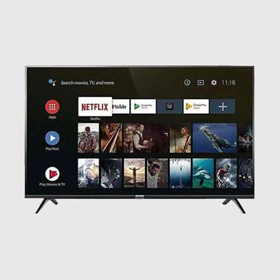TCL 32S68A, 32″ Frame-less Full HD Smart Android LED TV-Black Sealed image 1