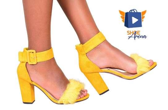 Elegant Chunky Heels image 5