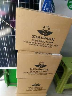 Solar battery 80amhs image 1