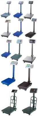 TCS Generic 300kg digital platform weighing heavy duty scale. image 1