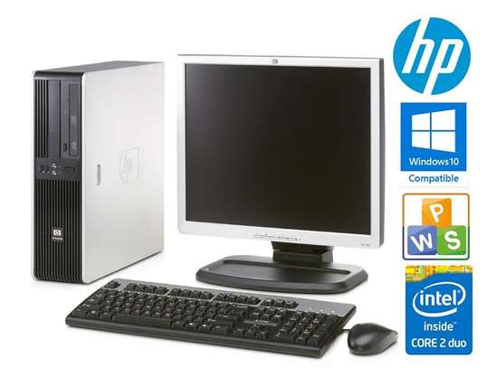 Hp complete set core 2 duo desktop