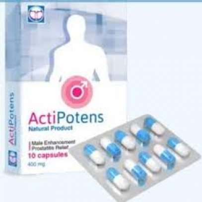 ActiPotens Natural Male Enhance - 10 Capsules 400mg image 1
