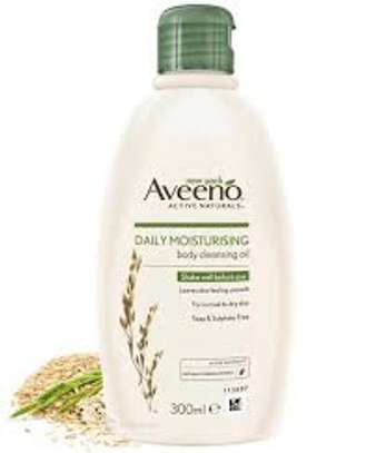 Aveeno Daily Moisturing Body Cleansing Oil 300ml image 1