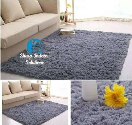 5*8 fluffy carpets image 1
