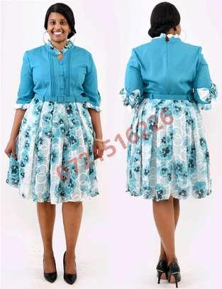 Turquoise dress image 1