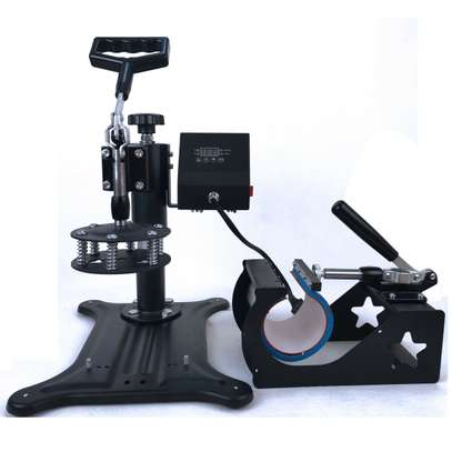 """Combo Heat Press Machine Digital 12x15in"""" for T-shirt Mugs Plate Hats Cup image 2"""