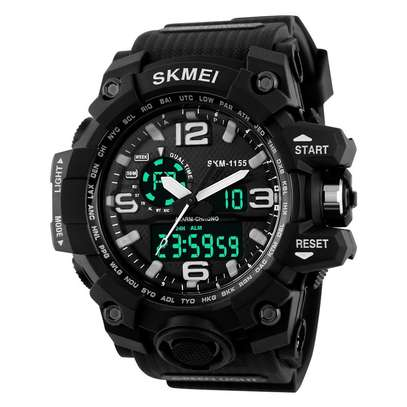 SKMEI Sports Watch Large Display Dual Face 1155 image 2