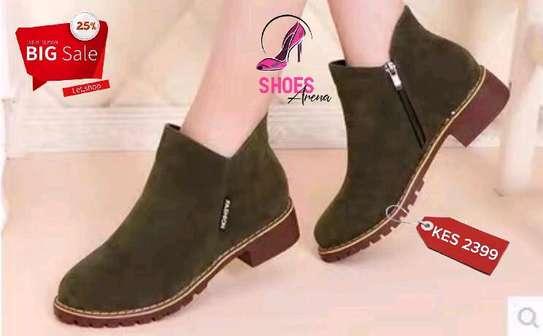 Amazing leather boots image 5