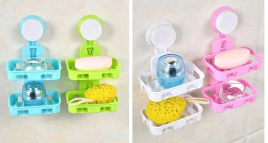 2 tier box soap dish image 1