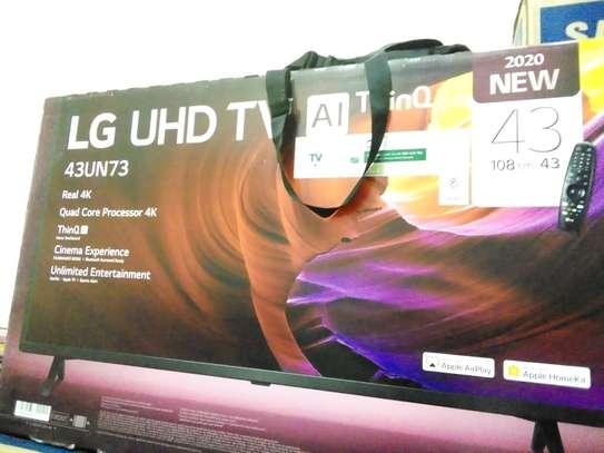 LG 43 inches smart 4k uhd tv
