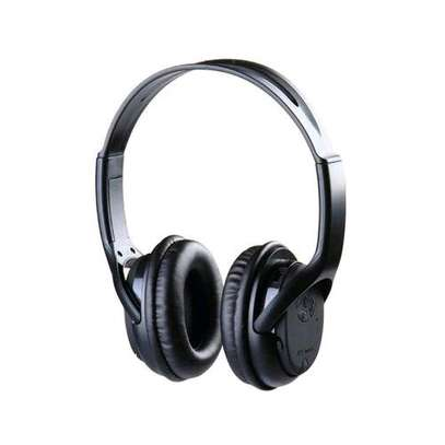 Wireless Stereo Headphones - Black image 1
