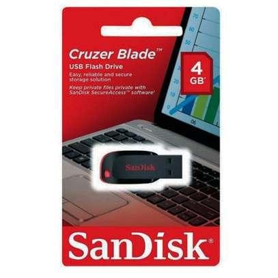 Sandisk Cruzer Blade - USB flash drive - 4GB image 1