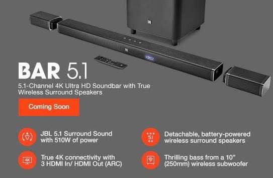 JBL Bar 5.1 510W 4K Detachable Soundbar With True Wireless Surround Speakers image 2