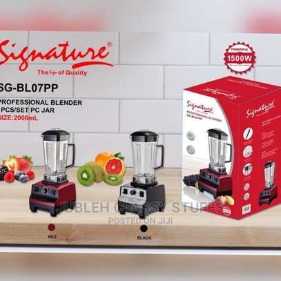 Quality Heavy Duty Signature Commercial Blenders image 1