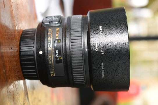 50mm f1.8G Nikon lens image 1