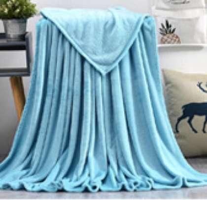 fleece blankets blue image 1