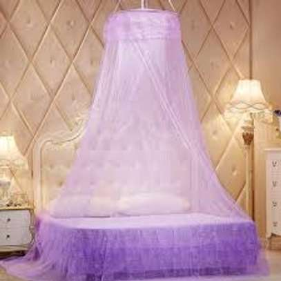 MEDIUM ROUND MOSQUITO NET-PURPLE image 1