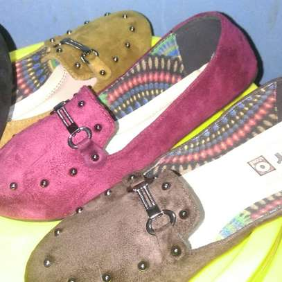 Ladies Suede Loafers image 6