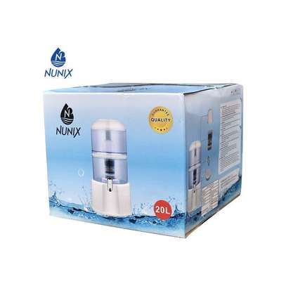 Nunix Water Purifier with Dispensing tap - 20 Litres - White image 2