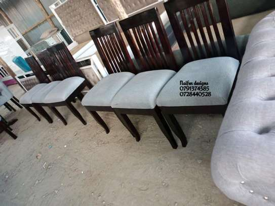 Modern Six seater dining tables for sale in Nairobi Kenya/dining chairs image 1