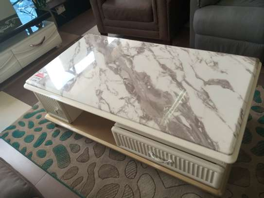 Marble Top coffee table image 1