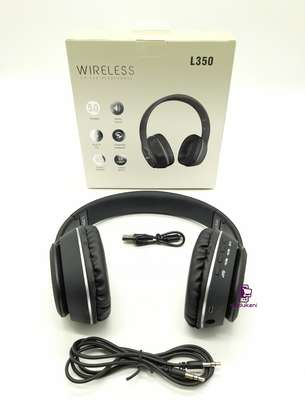 L350 Wireless On-Ear HD Extra BASS Bluetooth Headphones image 6