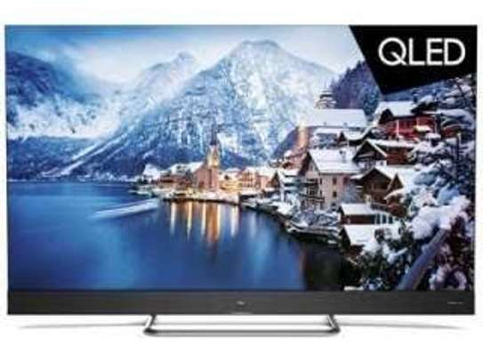 New Tcl 55 inches C8 ONKYO Android Smart UHD-4K Digital TVs 55P8M image 1