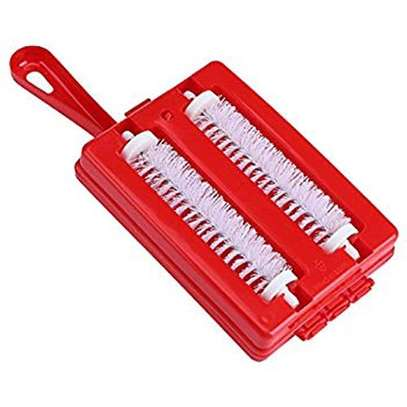 2 Row Unique Cleaning Universal Carpet Brush - Pink