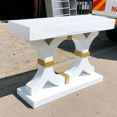 New modern console table image 1
