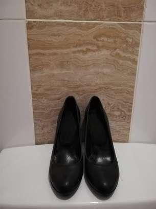 Black Heels Size 37 image 1