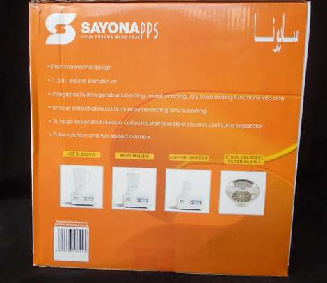 4-In-1 Blender/Juicer - 400W SAYONA image 2