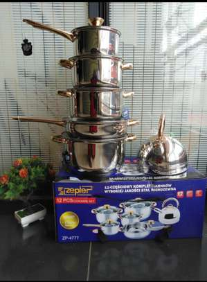stainless steel sufuria