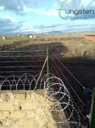 Electric fence for home security and Business image 5