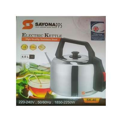 Sayona SK40 - Automatic Electric Kettle - 4.5 Liters